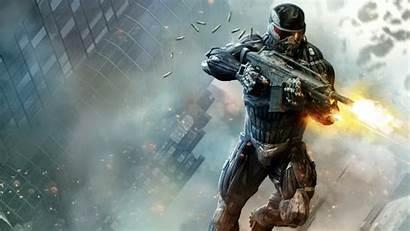 Shooting Desktop Guns Gun Crysis Games Hnx