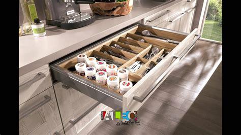 aménagement interieur de tiroir et meuble cuisine