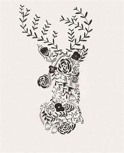 17 meilleures images a propos de cerf sur pinterest With affiche chambre bébé avec melange de fleurs de bach