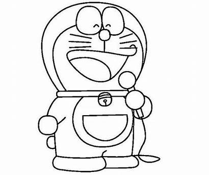 Doraemon Coloring Sing Song Pages Characters Anime
