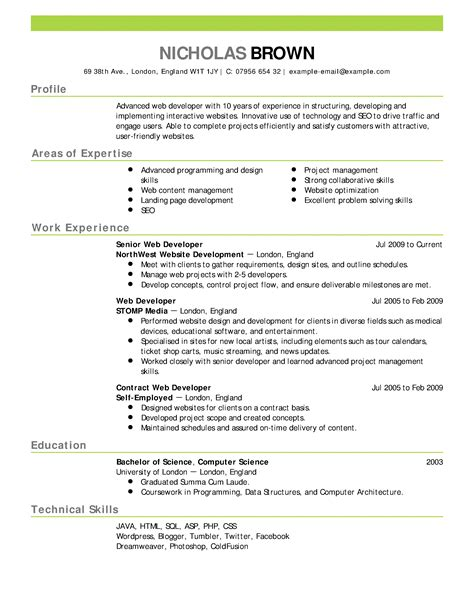 The Resume by 16 Free Resume Templates Excel Pdf Formats