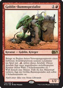 Goblin Commander Deck 2014 by White And Black General Commander Edh The