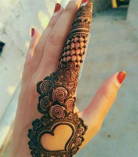 heart shape henna mehndi design images mehndi designs
