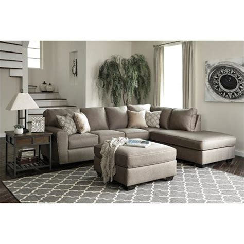 benchcraft sectional reviews 9120266 furniture calicho living room laf sofa 1583