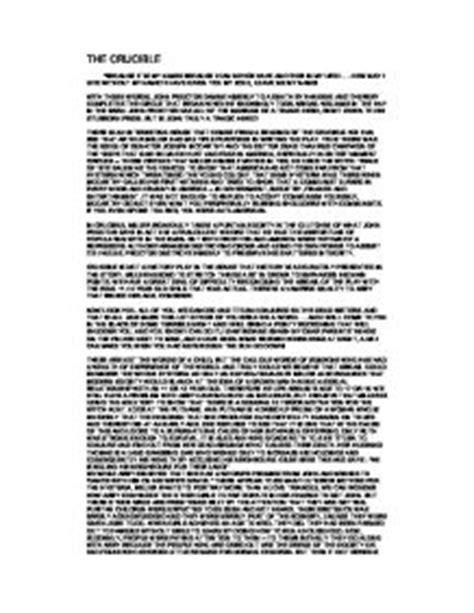 the crucible resume proctor tragic essay the