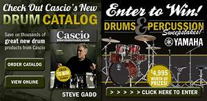 Enter to Win Drums from Cascio Interstate Music in Newest ...