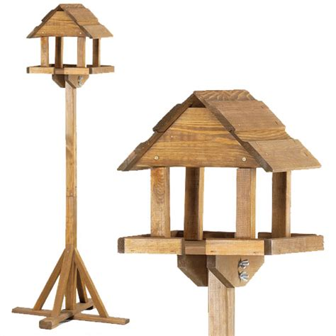 chapelwood premium bird table in fsc pine flat packed on sale