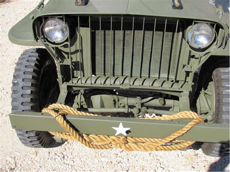 texas jeep grill 1942 slat grille mb austin tx sold ewillys