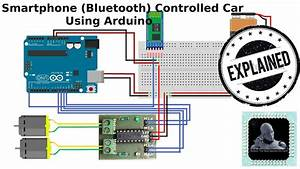 How To Make Smartphone  Bluetooth  Controlled Car Using
