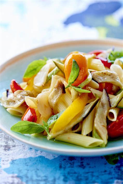 recette cuisine legumes recette pâtes aux légumes cuisine madame figaro