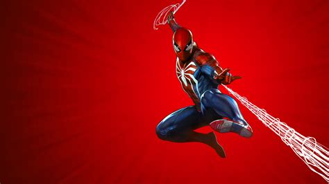 Marvels Spider Man Ps4 Theme Art 10k, Hd Games, 4k