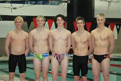 Boys Swimming Swimmers Sports State Spash Meet