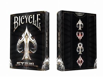 Cards Steel Bicycle Deck Playing Card Samurai
