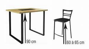 Quelle hauteur de chaises et tabourets choisir en fonction de sa table ? You