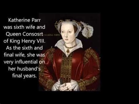 Medieval Queens of England: Katherine Parr - YouTube ...
