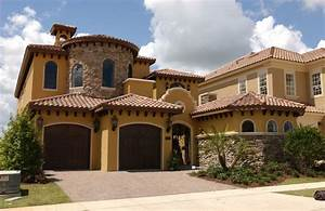 Lakeway Texas Tuscan Color And Style Front Elevation Homes