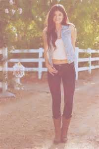 Jean vest with skinny jeans and cowgirl boots   Country ...