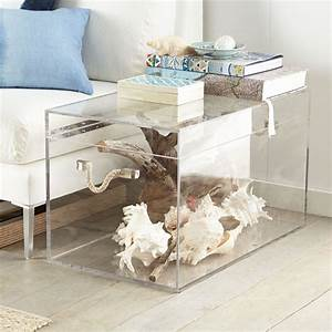 acrylic lucite furniture my current crush driven by With clear acrylic trunk coffee table
