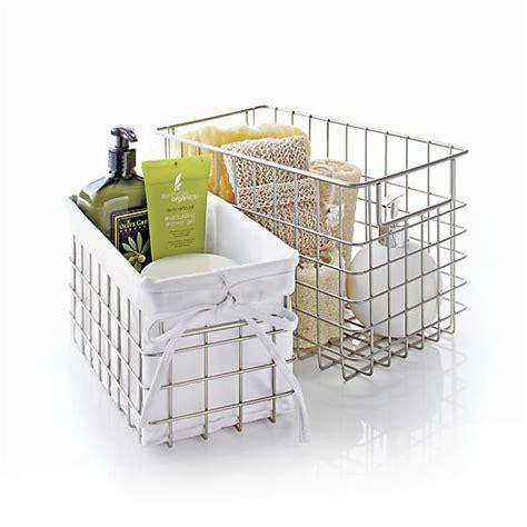 Small Storage Baskets Bathroom by 221 Best Bathroom Decor Storage Ideas Images On