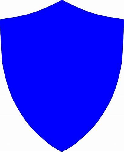 Shield Crest Clip Clipart Clker Vector Royalty