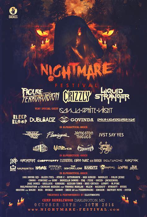 lineup nightmare festival