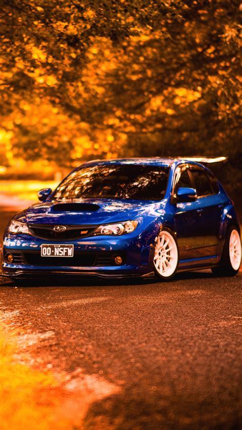 subaru iphone wrx sti wallpapers impreza backgrounds wallpaperaccess autumn vehicles wallpapersin4k