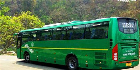 volvo bus services  himachal promoting tourism