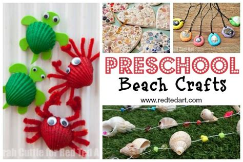 summer crafts for preschoolers ted s 293 | Beach crafts for preschoolers 600x400