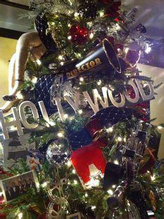 themed popcorn christmas trees holiday office