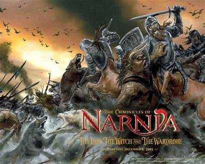 Narnia Wallpapers Chronicles Middle Witch Ages Battle