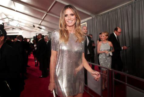 Heidi Klum Photos The Grammy Awards Red