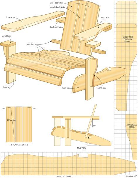 build  muskoka chair  immagini progetti  la