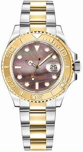 YachtMaster Ladies Timepiece 169623 GLD Rolex Oyster