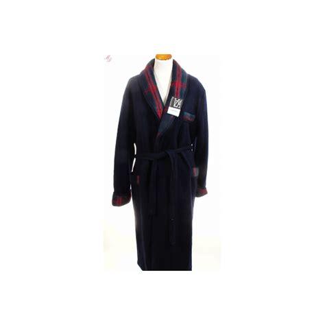 robe de chambre des pyr駭馥s peignoir homme en des pyrénées marine de val d 39 arizes