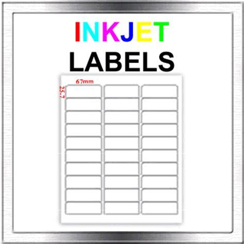 return address labels template 30 per sheet 450 inkjet address return to sender labels 30 per sheet ebay
