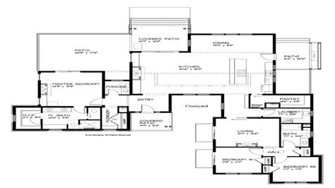 one modern house plans contemporary house plans modern single house plans
