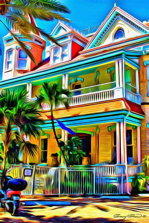 key west colors digital art  anthony  chen