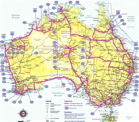 Carte Geographique Du Monde Australie by Carte G 233 Ographique De L Australie Pour Imprimer