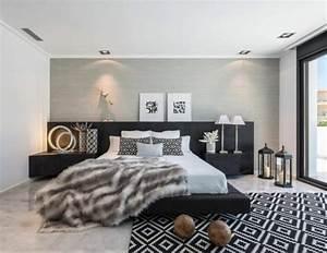 Wandfarbe Grau Schlafzimmer : wandfarbe grau 29 ideen f r die perfekte hintergrundfarbe in jedem raum ~ One.caynefoto.club Haus und Dekorationen