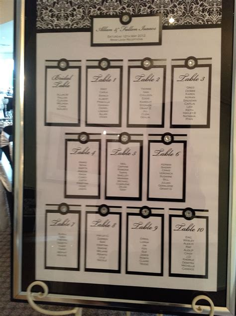guest seating board theme   wedding  black white  bling colour board reds