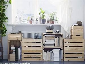 Ikea Hacking Les Caisses En Bois Knagglig Meubles Ikea