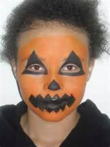 Pumpkin Face Painting Ideas