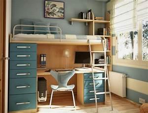 Grau Blaue Wand : 1001 ideen zum thema kleines kinderzimmer einrichten ~ Watch28wear.com Haus und Dekorationen