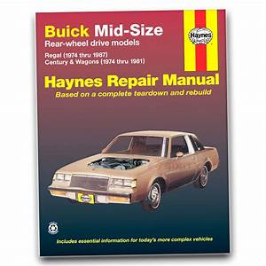 Buick Regal Haynes Repair Manual Sport Gnx Grand National