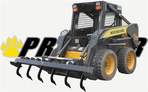 extreme duty ripper skid steer attachment