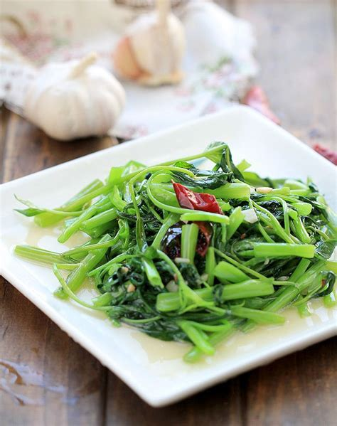 chinese water spinach stir fry recipe recipes water