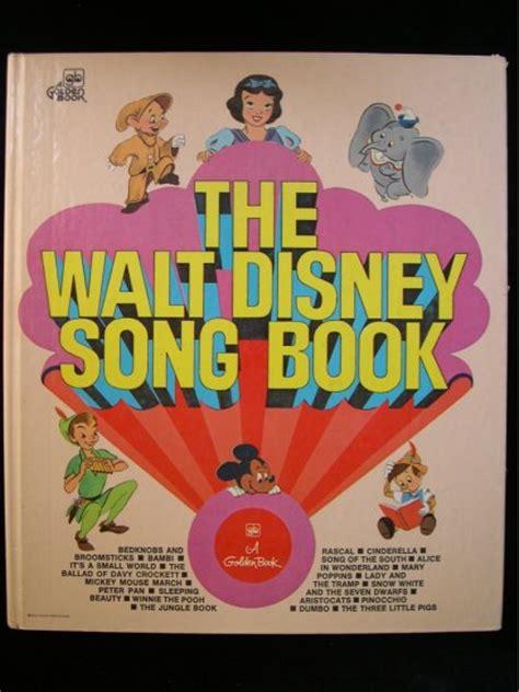 the walt disney song book golden pinocchio