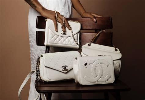 chanel springsummer  act  bag collection features whites  multicolor bags spotted fashion