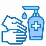 Icon Hygiene Handwash Coronavirus Covid Icono Gel