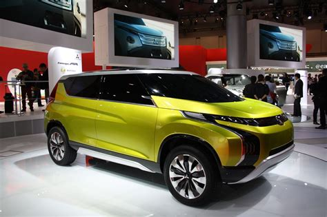 Mitsubishi Concept Ar Front Quarter Indian Autos Blog